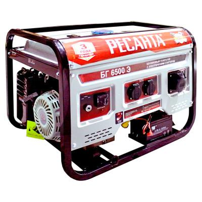 Бензиновый генератор Ресанта БГ 6500 Э