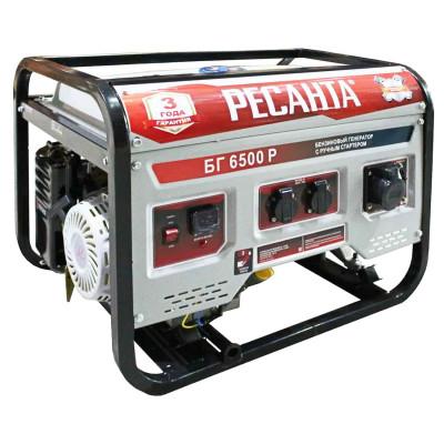 Бензиновый генератор Ресанта БГ 6500 Р