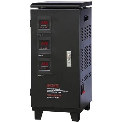 Электромеханический стабилизатор напряжения Ресанта АСН-6000/3-ЭМ